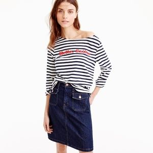 """Limited-edition National Stripes Day T-shirt in """"H"""